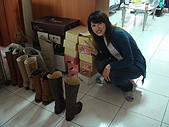 華山雲頂咖啡(2008_0120):西米露跟他的戰利品