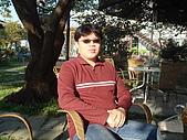 華山雲頂咖啡(2008_0120):新配的眼鏡,可以吸附太陽眼鏡鏡片