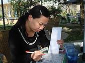 華山雲頂咖啡(2008_0120):認真的研究菜單
