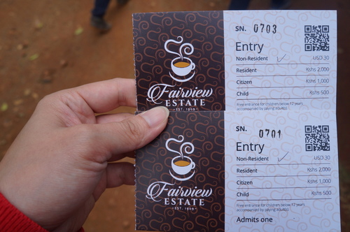 Fairview咖啡農場 - 2018 0217 肯亞動物大驚奇 Day 7 - Coffee Plantatiion