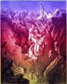 聖經圖片:Numbers-Chapter-16-The-Death-of-Korah-Dathan-and-Abiram.jpg