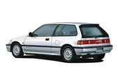 歷代 CIVIC 喜美:1987-Civic IV.車尾