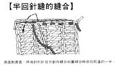 基本編-鉤針篇:半迴針縫