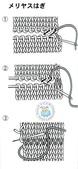 基本編-棒針篇:針對針縫合