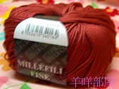 線材-夏紗:深磚紅