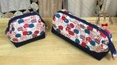 手作品:刺蝟拉鍊支架口金包(藍紅)10cm+20cm筆袋.jpg