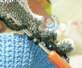 基本編-鉤針篇:網紗短針鉤法2