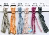 線材-夏紗:$90霓彩夏紗-段染