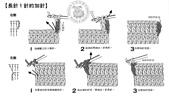 基本編-鉤針篇:長針1針的加針
