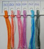 線材-夏紗:$150蘇菲亞棉線花-色卡