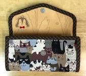 手作品:貓咪(咖啡)長夾錢包-1.jpg