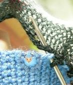 基本編-鉤針篇:網紗短針鉤法1