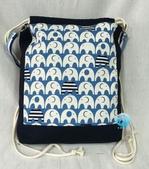 手作品:大象(藍)縮口後背、肩背2用包-1.jpg