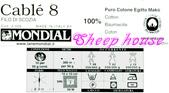 線材-夏紗:$180細棉線-標籤