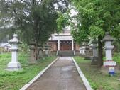 通霄神社:參道, 第二重鳥居與拜殿.JPG