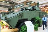 2017年台北國際航太展:雲豹30mm鏈砲塔 (3).JPG
