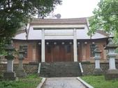 通霄神社:第二重鳥居與拜殿.JPG