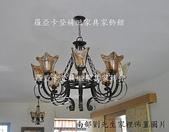 仿古美式鄉村鍛鐵各類燈飾:仿古美式鄉村鍛鐵吊燈
