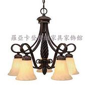 仿古美式鄉村鍛鐵各類燈飾:仿古美式鄉村鍛鐵藝術吊燈