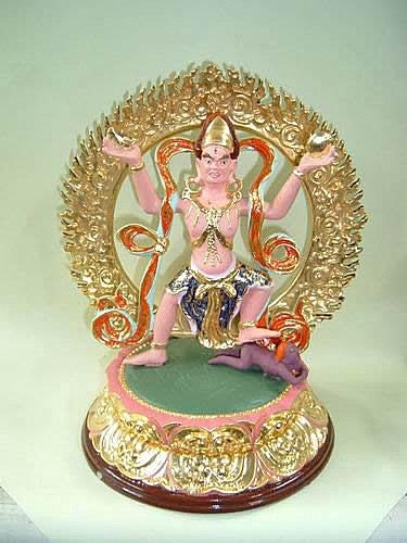 佛教的財寶本尊-堅牢地神@ 大圓...