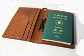 革手作:013 護照夾-5