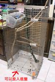 蜜袋鼯小悟:小悟新家-DIY白鐵籠-1