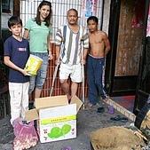 2006台灣家庭慈善工作:運送物資米糧至花蓮秀林鄉