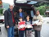 2006台灣家庭慈善工作:運送物資米糧至南澳鄉