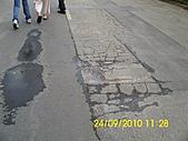 990924冠東方社區,週邊行道樹枯死,排水溝不通及柏油路面不平等問題,請速辦理改善:DSCI0829 (Large).JPG