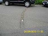 990924冠東方社區,週邊行道樹枯死,排水溝不通及柏油路面不平等問題,請速辦理改善:DSCI0832 (Large).JPG