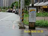 990615南勢路口路段,兩側人行道年久失修,且部分被佔用,:DSCI0534 (Large).JPG