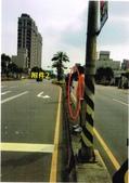 104.7~12大小事:1043414875警察局-檢發「104年7月17日研商新北市林口區文化北路1段、忠孝一路口設置測速照相機案」會勘紀錄及現場照片1