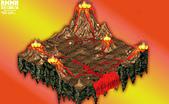 洛克人大戰:噴火山口