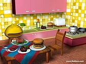 柑仔桌布:柑仔美食王桌布800X600(一般版)