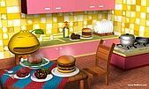 柑仔桌布:柑仔美食王桌布1280X768(一般版)