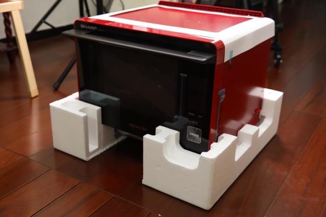04.jpg - 全台灣第一台夏普最新款中文水波爐XP5T開箱