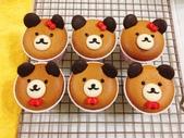 為了女兒週歲生日第一次做杯子蛋糕:01.jpg