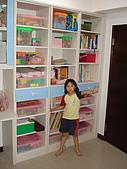 新家裝潢後暨家具入住照片:小女兒房的系統書櫃1.jpg