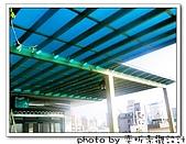 新竹 南方松採光罩、綠色霧光板,遮蔽大日曬:IMG_1190.jpg