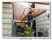 龍潭 戶外南方松遮雨棚 格網圍籬 木造斜屋頂 自然原木色:DSC00171.jpg