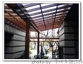 龍潭 戶外南方松遮雨棚 格網圍籬 木造斜屋頂 自然原木色:DSC00197.jpg