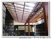 龍潭 戶外南方松遮雨棚 格網圍籬 木造斜屋頂 自然原木色:DSC00198.jpg