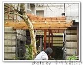 龍潭 戶外南方松遮雨棚 格網圍籬 木造斜屋頂 自然原木色:DSC00203.jpg