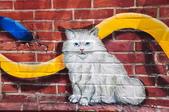 20140927雲林縣虎尾鎮屋頂上的貓、雲林故事館:DSC_0025.JPG