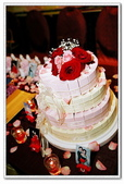 幸福全紀錄(三):四層喜糖蛋糕~