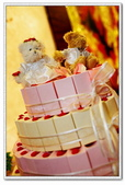 幸福全紀錄(三):蛋糕上ㄉ一對新婚小熊