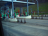 日本蜜月之旅(第一天):高速公路上ㄉ收費站