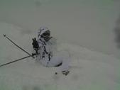 20120125日本苗場滑雪五日:撞牆