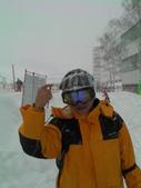 20120125日本苗場滑雪五日:冰雪封頂
