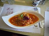 2008.9.24耿賢&庸盛報告:蟹肉蝦仁茄汁義大麵